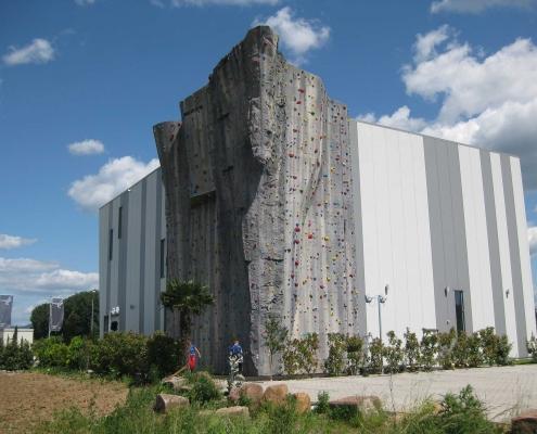 Neubau einer Kletterhalle - Bensheim
