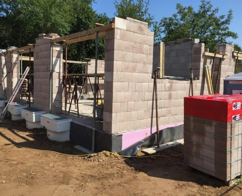 Neubau eines Einfamilienhauses – Sulzbach