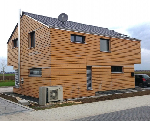 Neubau eines Einfamilienhauses – Lampertheim Hofheim