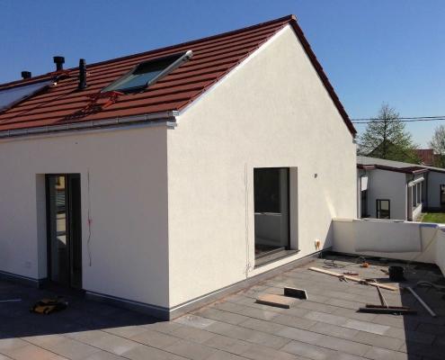 Sanierung und Dachausbau mit Gaube – Lampertheim