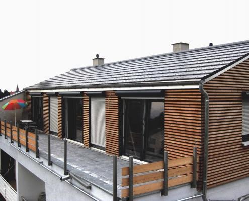 Umbau und Aufstockung eines Wohnhauses – Lampertheim
