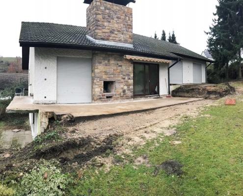 Aufstockung eines EFH in Holzbauweise - Heppenheim
