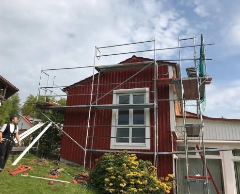 Anbau + Energetische Sanierung einer Ferienwohnung - Erbach