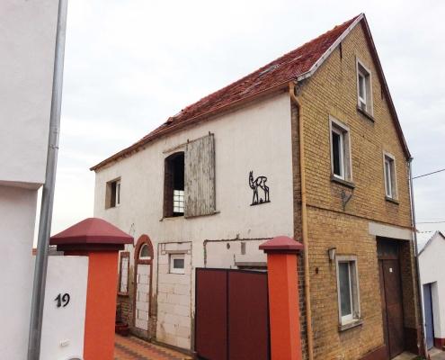 Umbau einer Scheune zu einem Wohnhaus – Hohen Sülzen